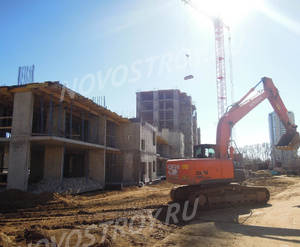 ЖК «Новые Островцы»: ход строительства дома №1