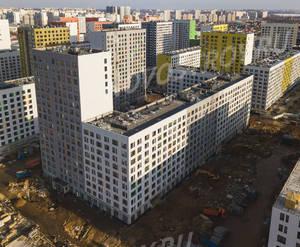 ЖК «Бунинские луга»: ход строительства корпуса №1.2