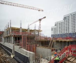 ЖК «Ривер Парк»: ход строительства корпуса №1