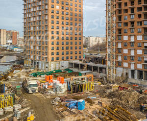 ЖК «Дальневосточный 15»: ход строительства корпуса №1А