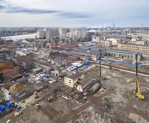 ЖК ЦДС «Черная речка»: ход строительства корпуса №2,3