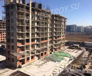 ЖК «Жемчужный каскад»: ход строительства корпуса №1
