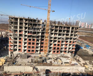 ЖК «Жемчужный каскад»: ход строительства корпуса №3
