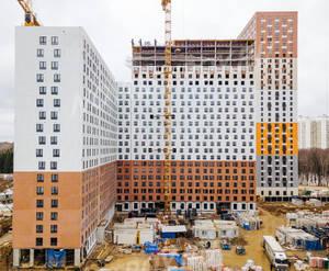 ЖК «Митино Парк»: ход строительства корпуса №4