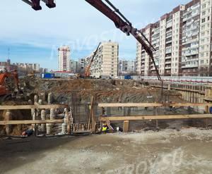 ЖК «Рыбацкая гавань»:  ход строительства за март 2019 г.