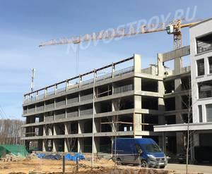 ЖК «Левобережный»: ход строительства паркинга