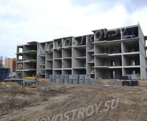 МЖК 7 park: ход строительства, апрель 2019