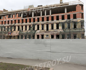 МФК «Opera Palace»: ход стрительства (апрель 2019)