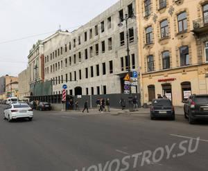МФК «Лиговский проспект, д. 56»: ход строительства (апрель 2019)