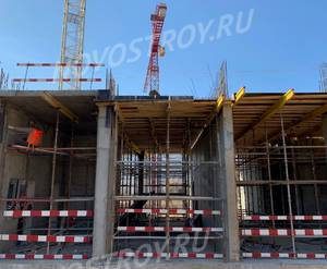ЖК «Дмитровский парк»: ход строительства блока №2