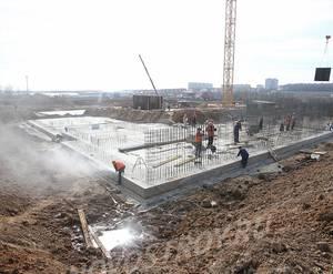 ЖК «Цветочные поляны»: ход строительства корпуса №1