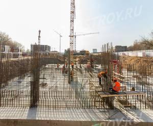 ЖК «LIFE-Варшавская»: ход строительства башни №1