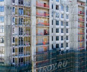 ЖК «Династия»: ход строительства 1 очереди