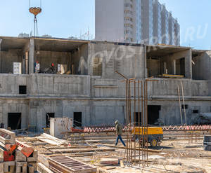 ЖК «Новые Ватутинки» (мкр-н. Центральный): ход строительства корпуса №1/3