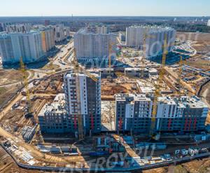 ЖК «Новые Ватутинки» (мкр-н. Центральный): ход строительства корпуса №1/4