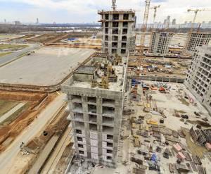 ЖК «Город на Реке Тушино-2018»: ход строительства квартала №3