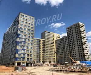 ЖК «Западный порт»: ход строительства блока №1
