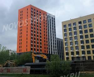 ЖК «Влюблино»: ход строительства корпуса №2.2