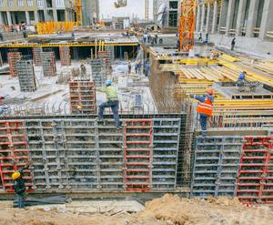 МФК «Level Амурская»: ход строительства
