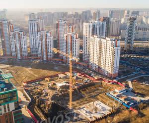 МФК «Neopark»: ход строительства дома №3