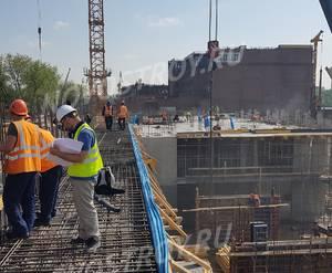 ЖК «Aquatoria»: ход строительства корпуса №В1