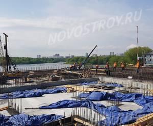 ЖК «Aquatoria»: ход строительства корпуса №В2