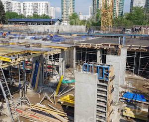 ЖК «Aquatoria»: ход строительства корпуса №С2