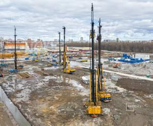МФК «ArtLine в Приморском»: ход строительства дома №2