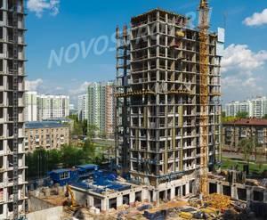ЖК «Новочеремушкинская, 17»: ход строительства корпуса №1