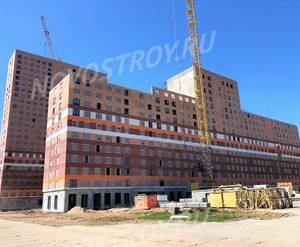 ЖК «Люблинский парк»: ход строительства блока №1