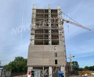 ЖК «Шереметьевский»: ход строительства корпуса №2