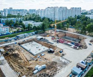 ЖК «Молодогвардейский, 36»: ход строительства корпуса №5Б