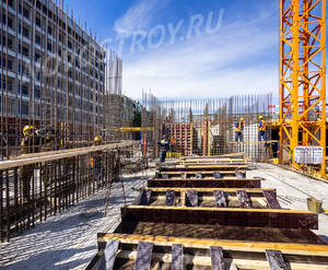 МФК «Mitte»: ход строительства