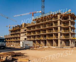 ЖК «Новое Колпино»: ход строительства корпуса №51