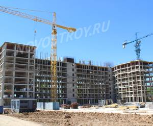 ЖК «Скандинавия»: ход строительства дома №18.1