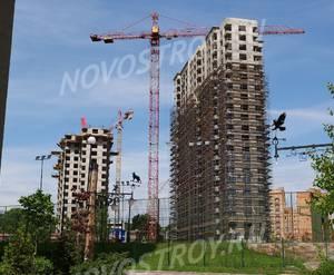 ЖК «Новая Звезда» (Газопровод): ход строительства корпуса №7,8