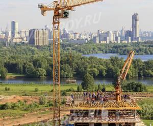 ЖК «Город на Реке Тушино-2018»: ход строительства квартала №4