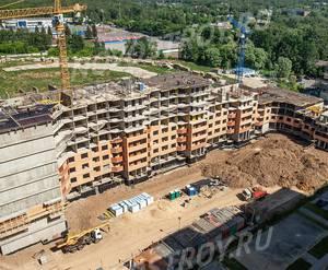 ЖК «Зеленые аллеи»: ход строительства корпуса №2.5