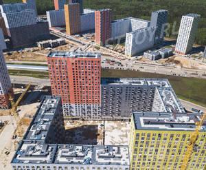 ЖК «Саларьево парк»: ход строительства корпуса №18.1