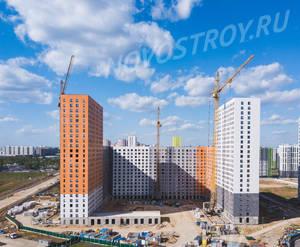 ЖК «Бутово парк 2»: ход строительства корпуса №19-21