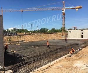ЖК «Мякинино парк»: ход строительства строения №2.1