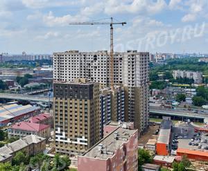 ЖК «Облака»: ход строительства корпуса №1