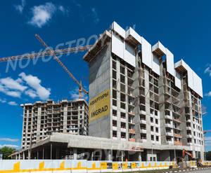 ЖК «Преображение»: ход строительства корпуса №1