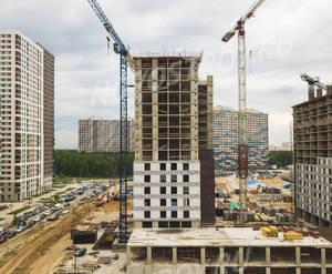ЖК «Оранж парк»: ход строительства корпуса №6