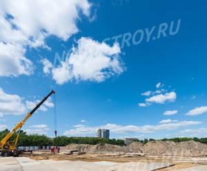 ЖК «RiverSky»: ход строительства корпуса №3