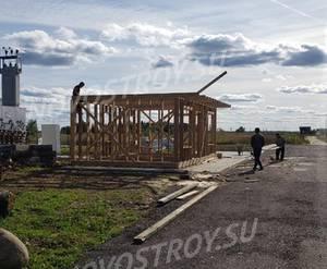КП «Белый берег»:ход строительства, август 2019