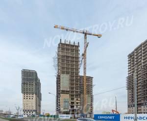 ЖК «Некрасовка» (Маресьева): ход строительства корпуса №8
