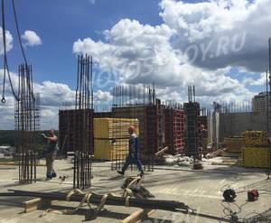 ЖК «Жемчужина Островцов»: ход строительства (июль 2019)