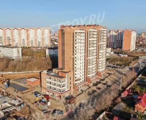 ЖК «на улице Текстильщиков»: ход строительства (ноябрь 2019)