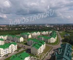 МЖК «Троицкая слобода»: скриншот с видеообзора (лето 2019)